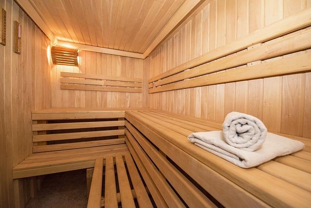 hotelová sauna
