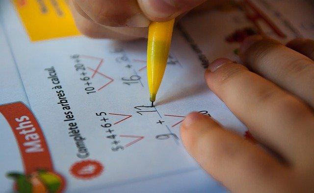 matematika školák