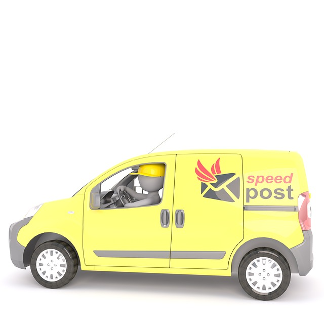 dodávka pošty