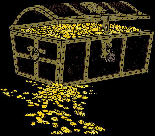 truhla mincí