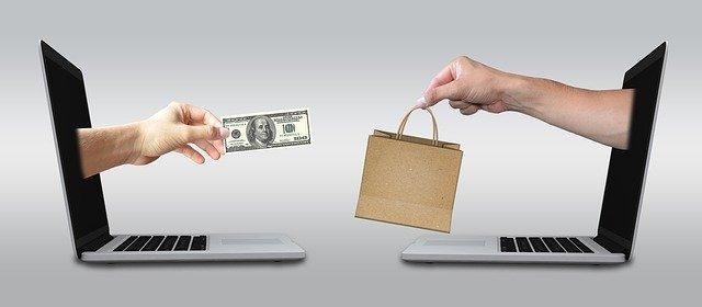 platba hotově za on-line prodej