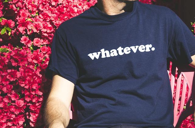 reklamní tričko
