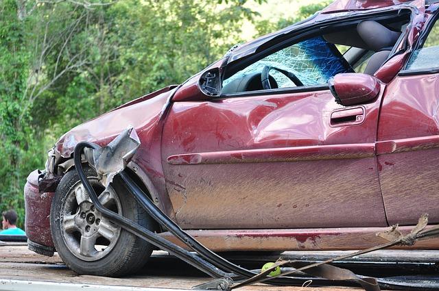 nehoda vozidlo