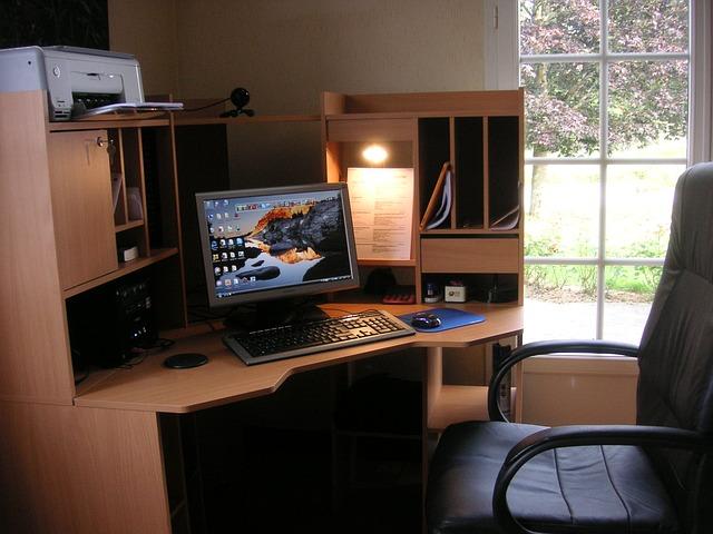 domácí pracovní prostor