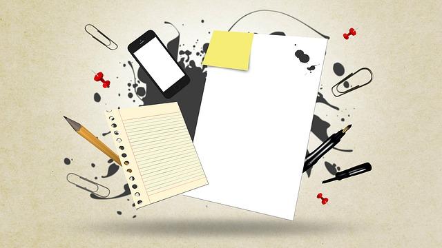 papír a jiné kancelářské potřeby