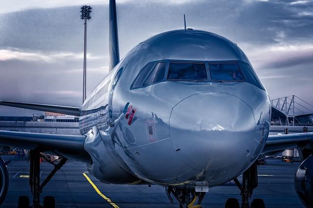 čekající letadla