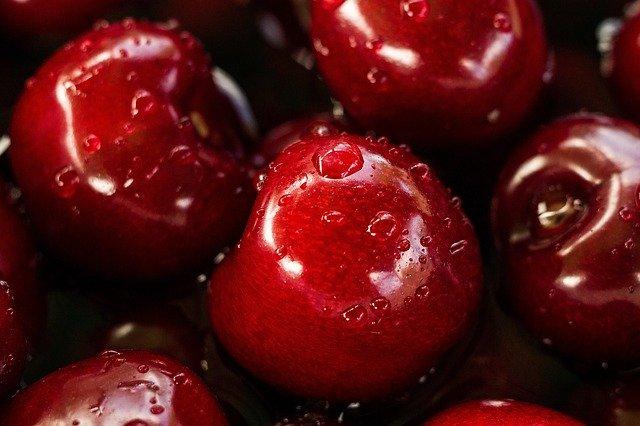 omyté višně